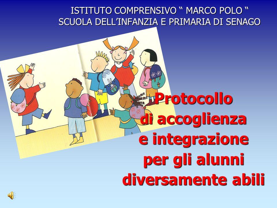 Protocollo e integrazione per gli alunni diversamente abili