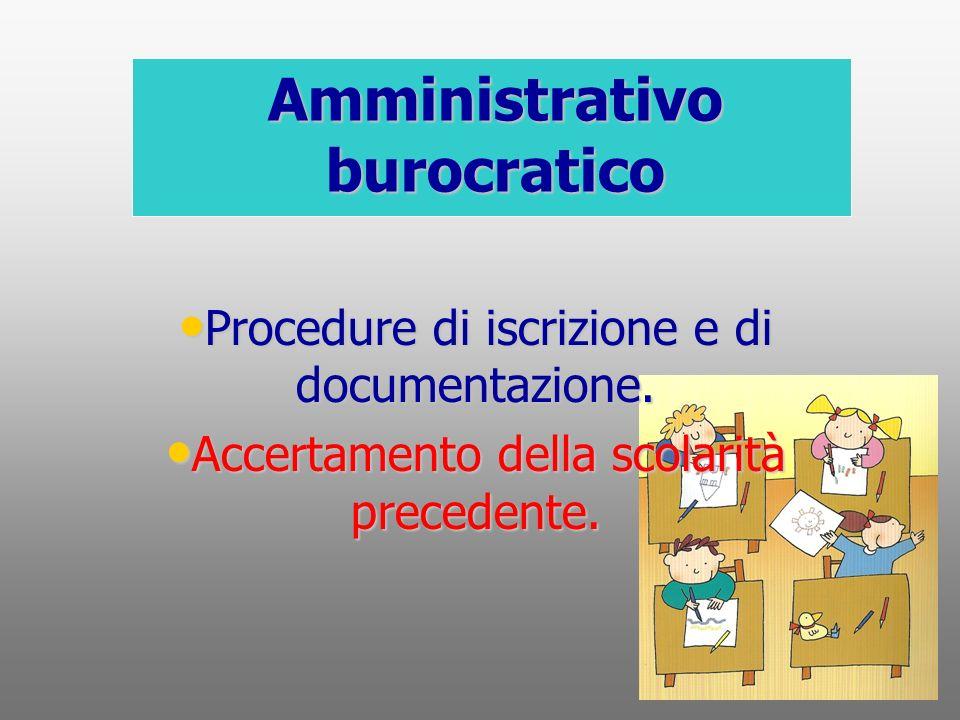 Amministrativo burocratico