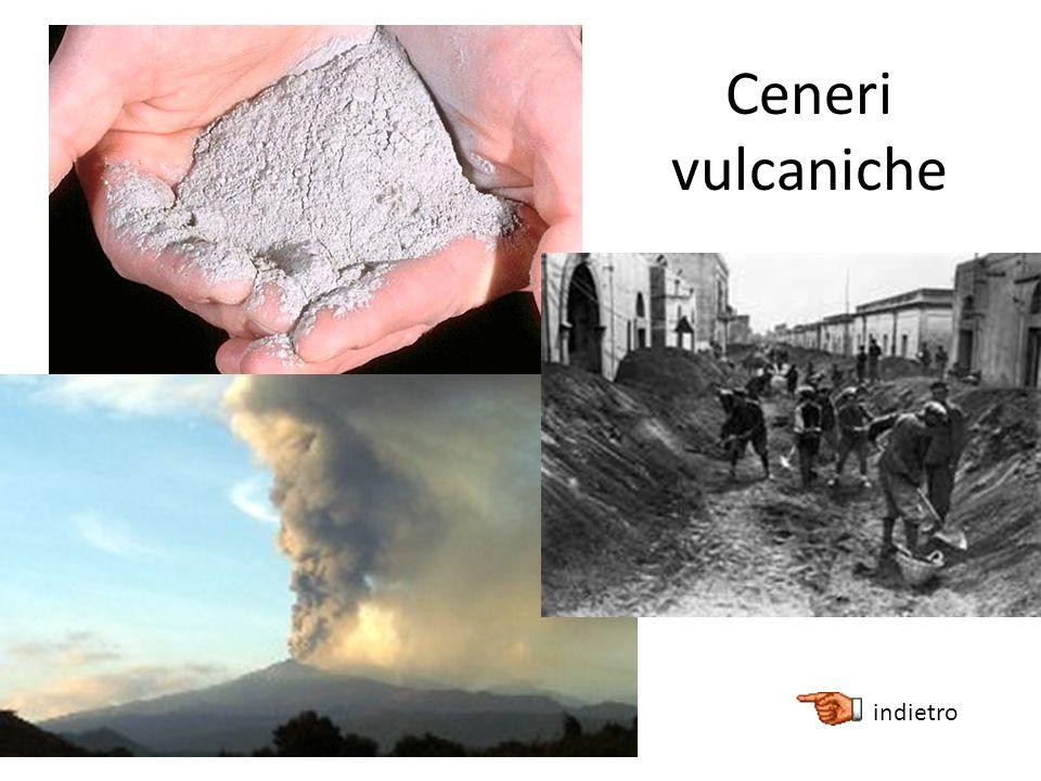 Ceneri vulcaniche indietro