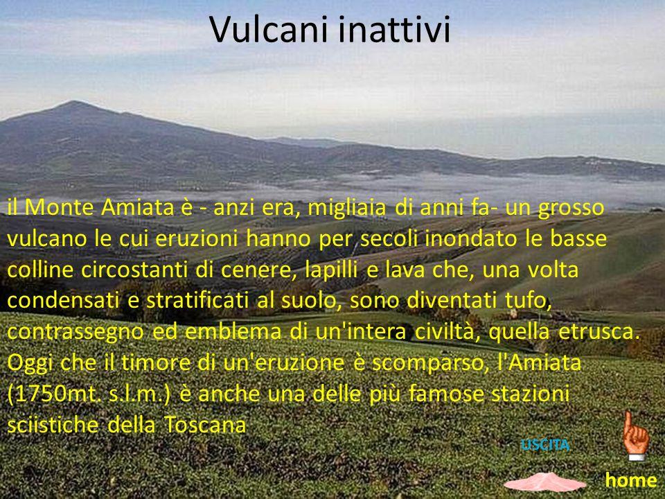 Vulcani inattivi