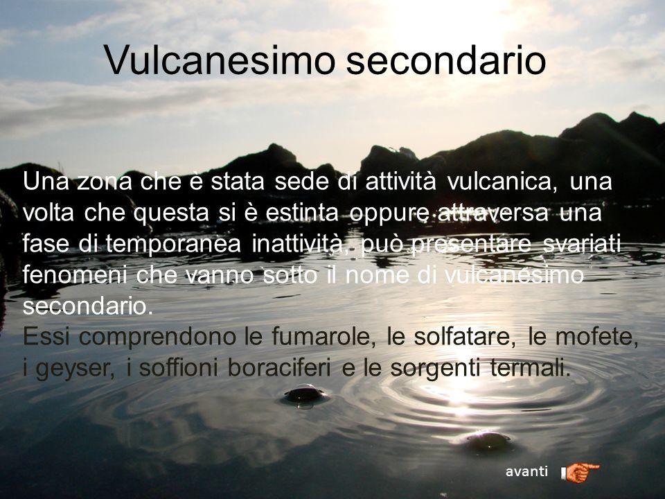 Vulcanesimo secondario