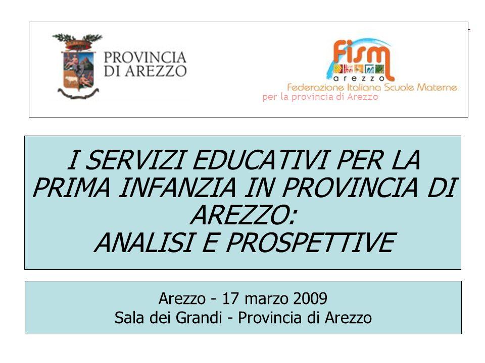 per la provincia di Arezzo