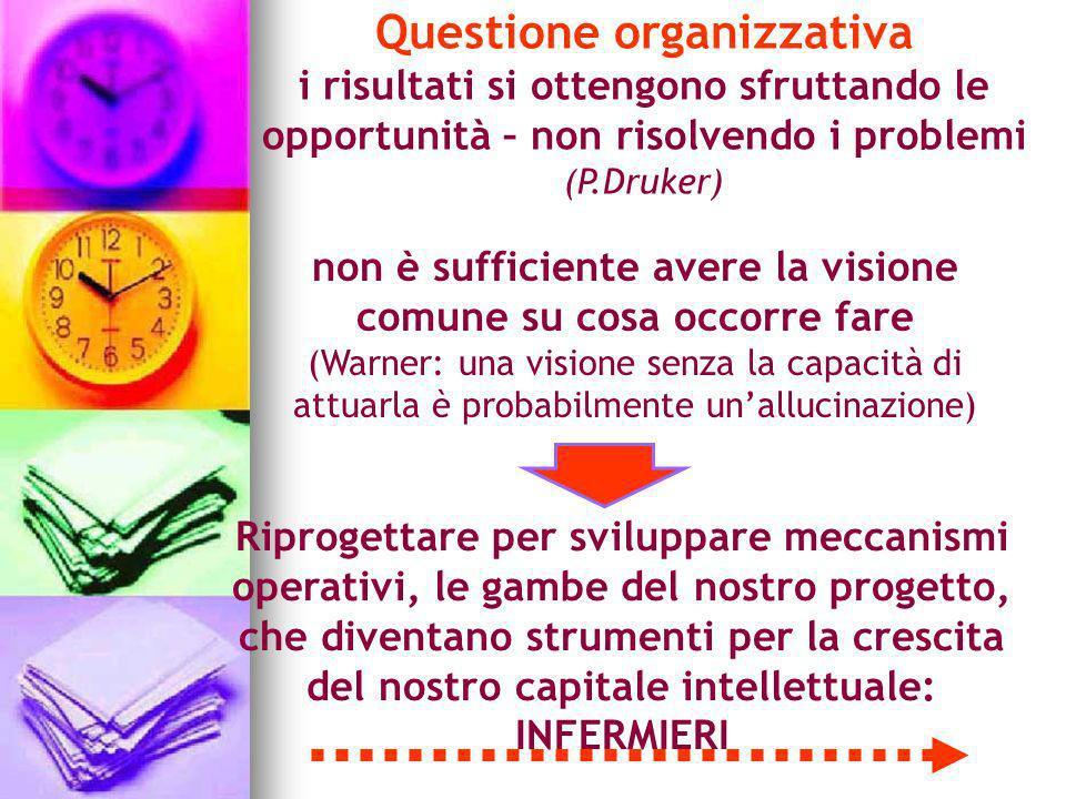 Questione organizzativa