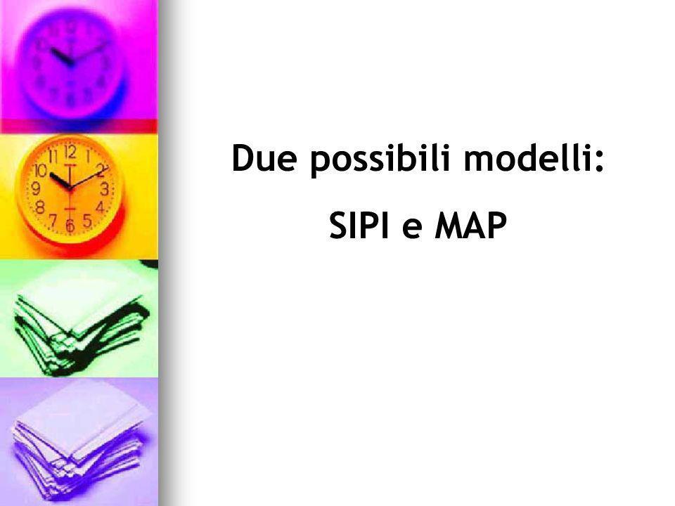 Due possibili modelli: