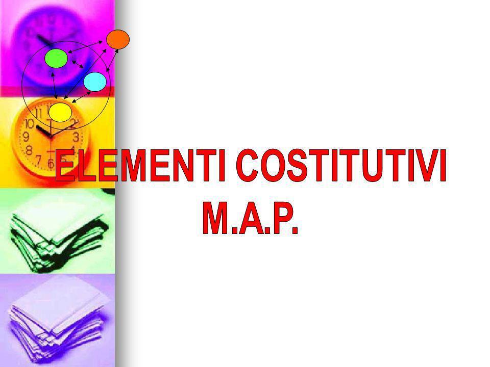 ELEMENTI COSTITUTIVI M.A.P.