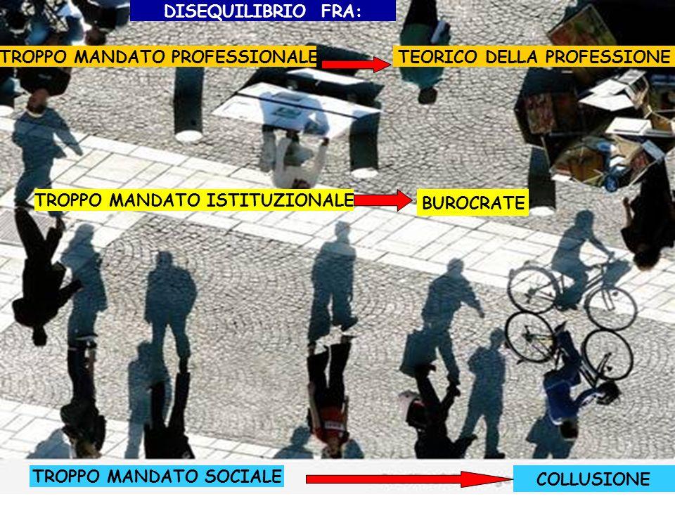 TROPPO MANDATO PROFESSIONALE TEORICO DELLA PROFESSIONE
