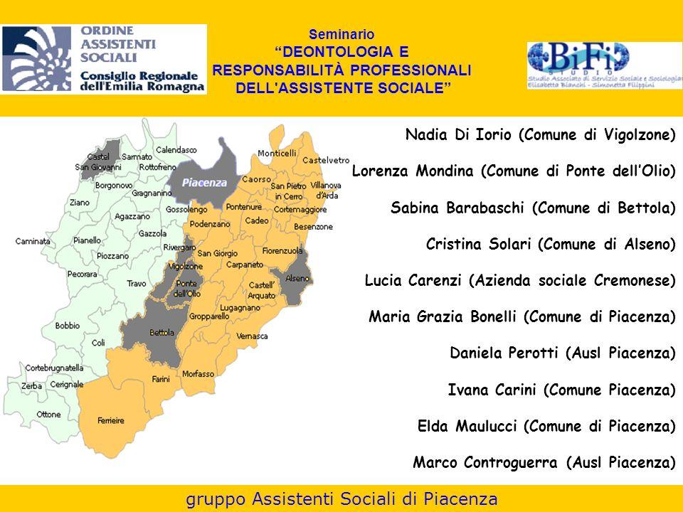 gruppo Assistenti Sociali di Piacenza