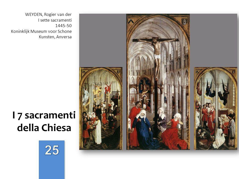 I 7 sacramenti della Chiesa