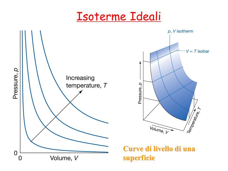 Isoterme Ideali Curve di livello di una superficie