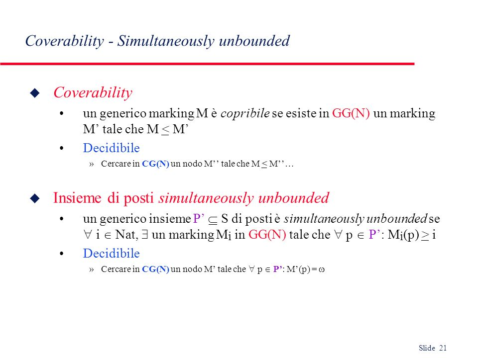 Coverability - Simultaneously unbounded