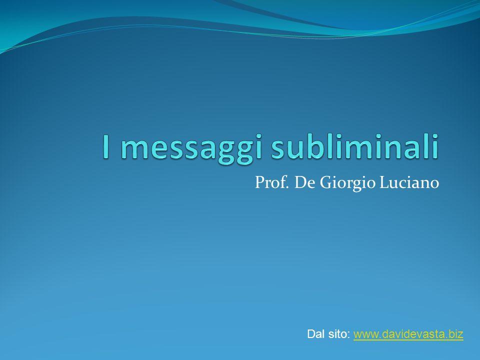 I messaggi subliminali