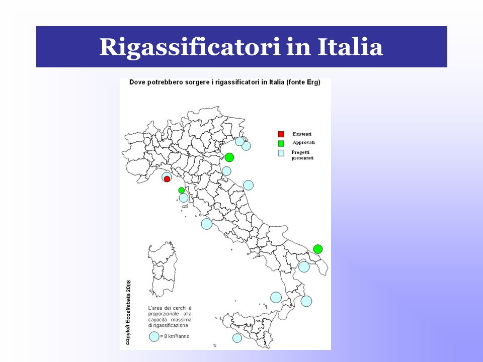 Rigassificatori in Italia