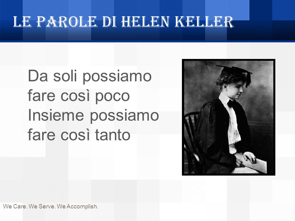 Le parole di Helen Keller