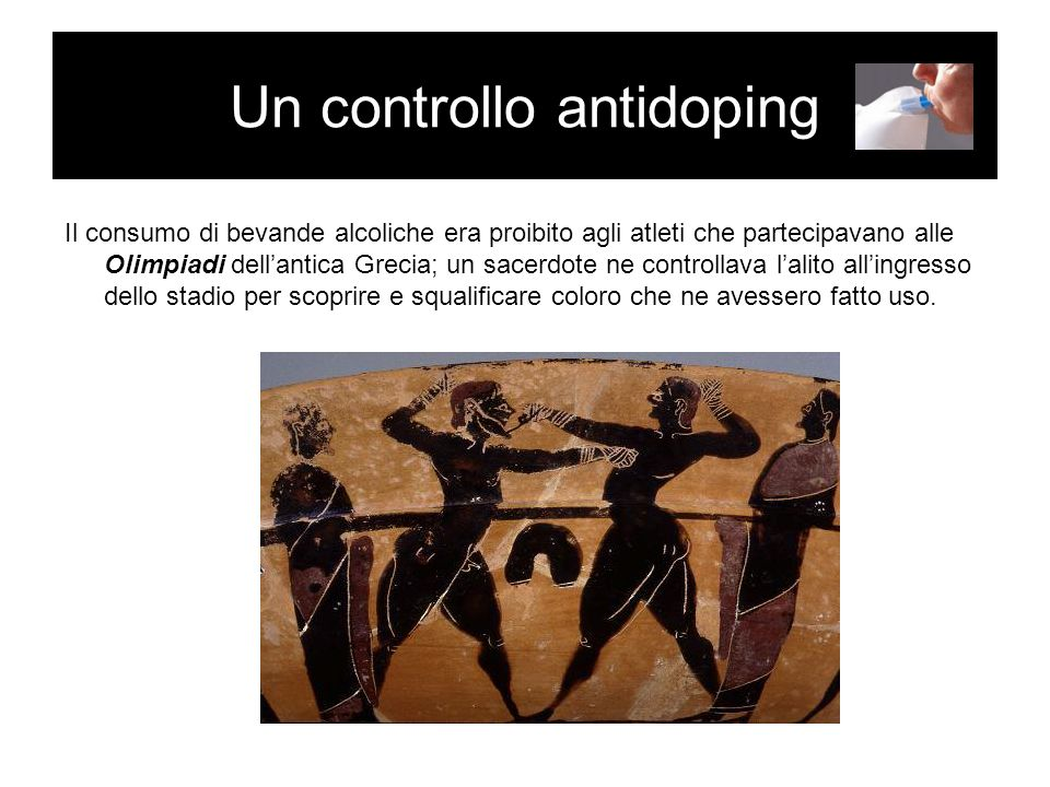 Un controllo antidoping