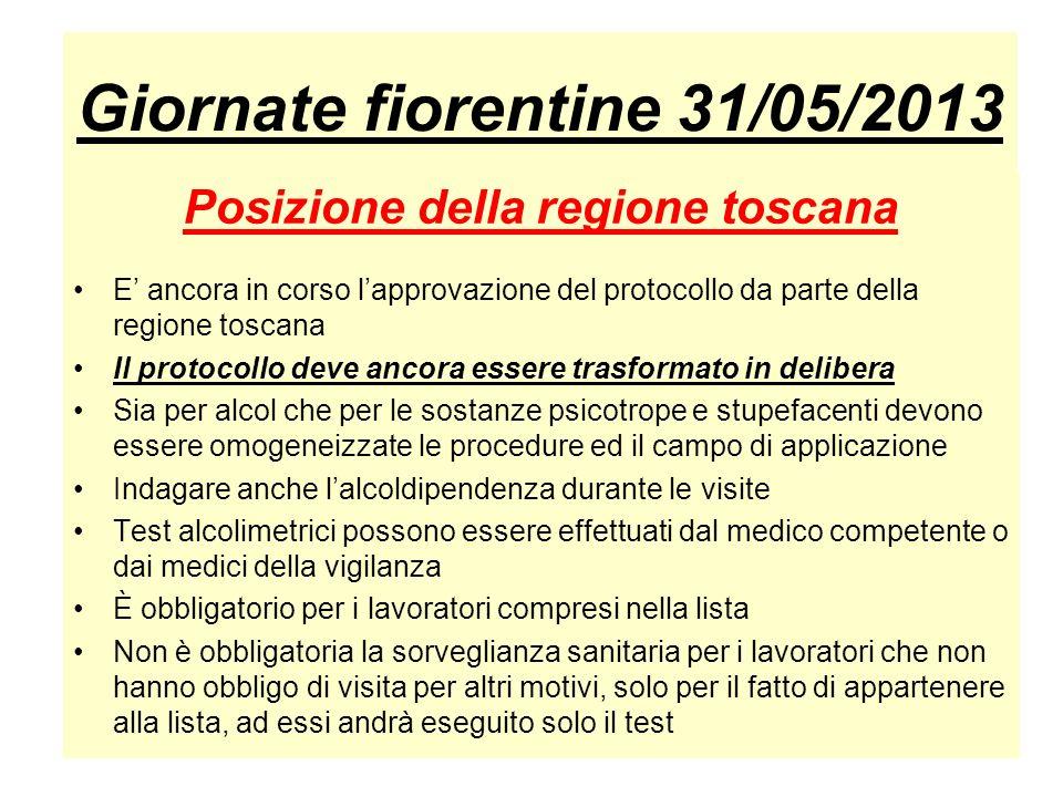 Giornate fiorentine 31/05/2013