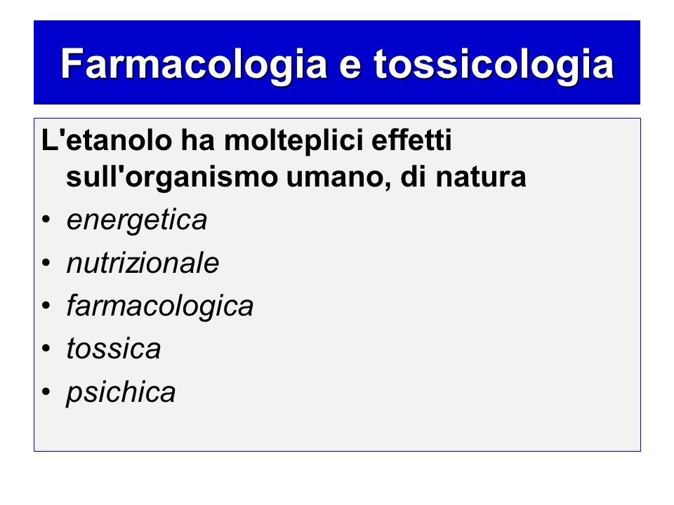 Farmacologia e tossicologia