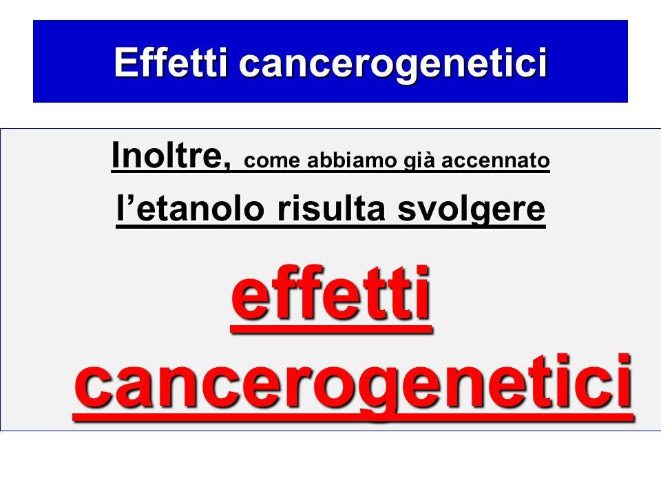 Effetti cancerogenetici