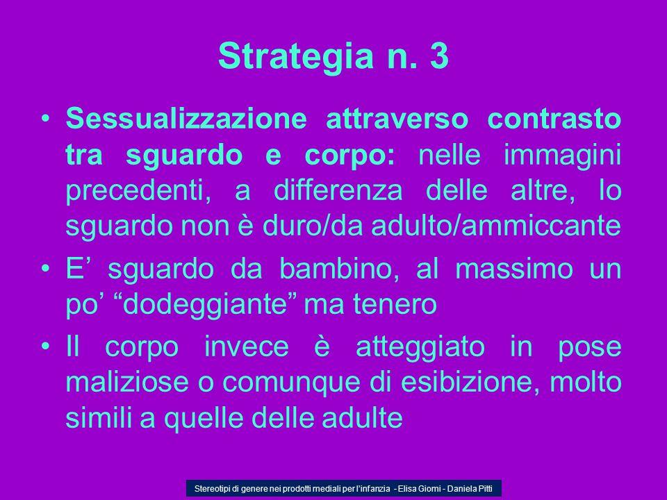 Strategia n. 3