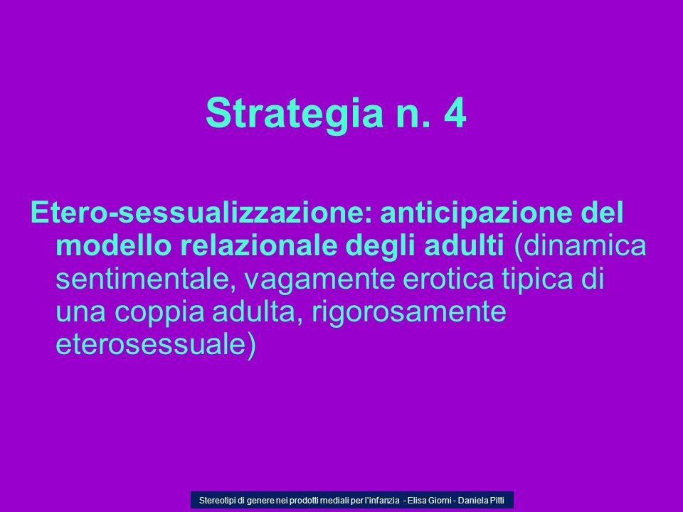 Strategia n. 4