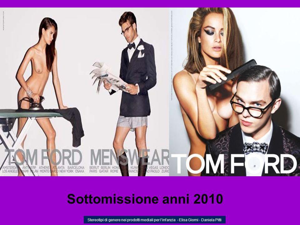 Sottomissione anni 2010 Stereotipi di genere nei prodotti mediali per l'infanzia - Elisa Giomi - Daniela Pitti.