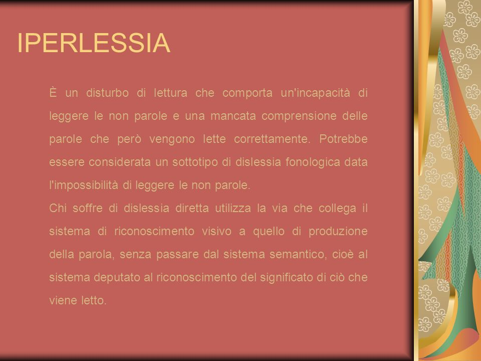 IPERLESSIA