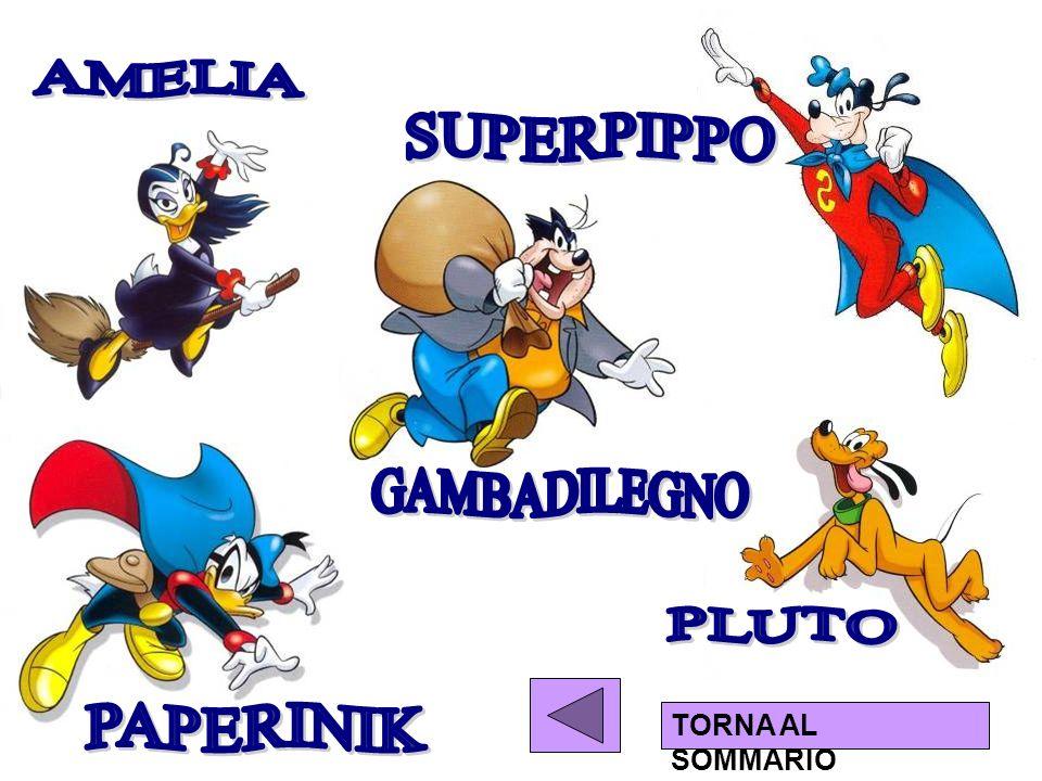 AMELIA SUPERPIPPO GAMBADILEGNO PLUTO PAPERINIK TORNA AL SOMMARIO
