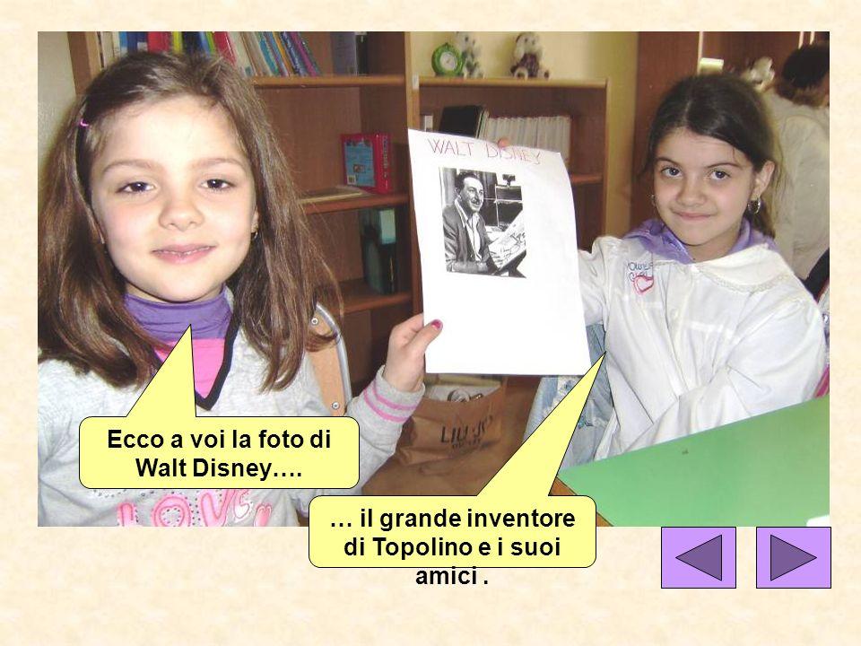 Ecco a voi la foto di Walt Disney….