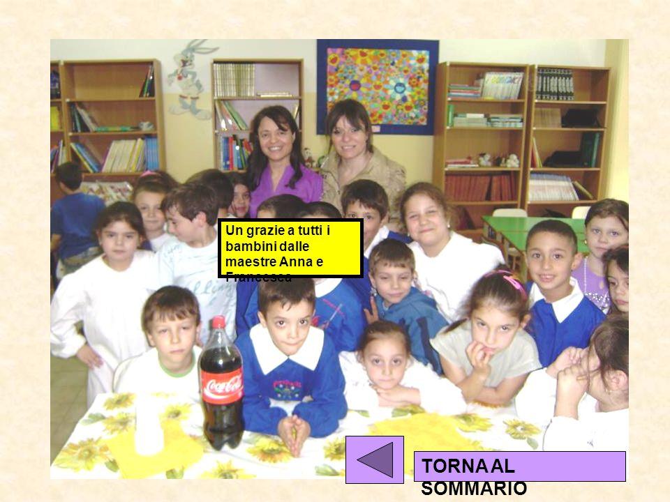 Un grazie a tutti i bambini dalle maestre Anna e Francesca