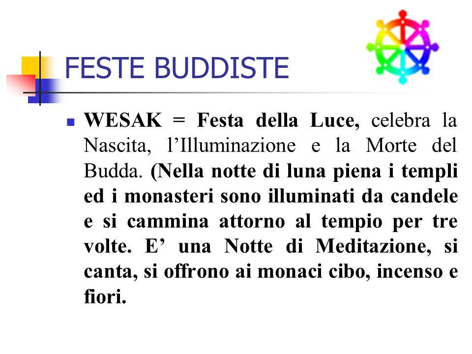 FESTE BUDDISTE