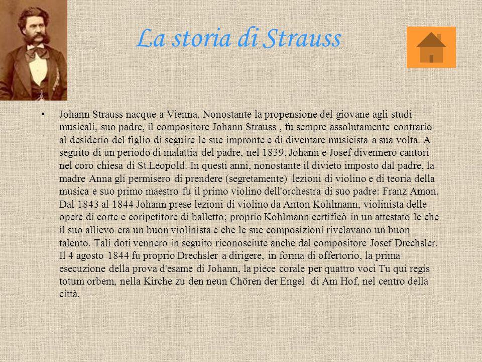 La storia di Strauss