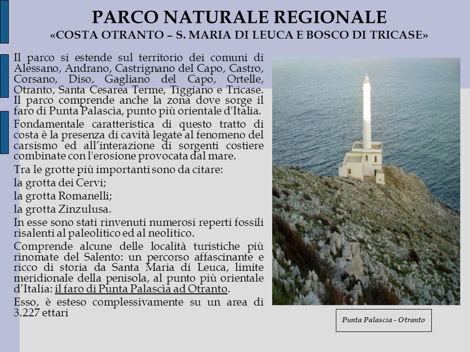 Punta Palascia - Otranto