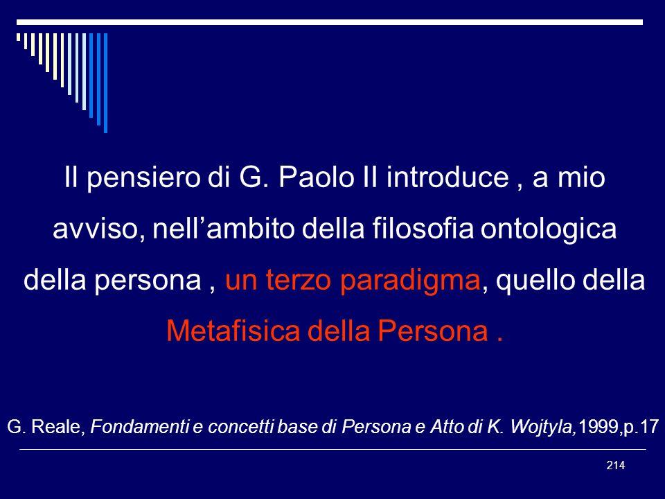 Metafisica della Persona .