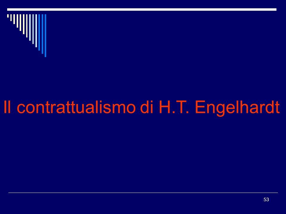 Il contrattualismo di H.T. Engelhardt