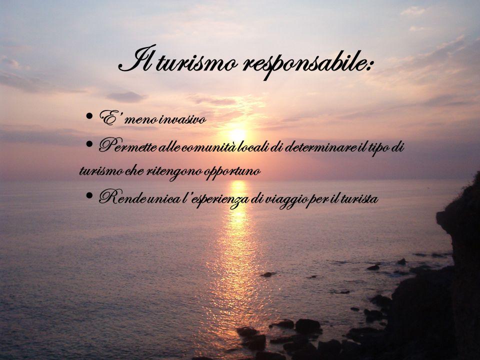 Il turismo responsabile: