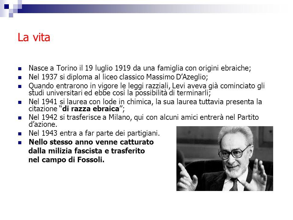La vita Nasce a Torino il 19 luglio 1919 da una famiglia con origini ebraiche; Nel 1937 si diploma al liceo classico Massimo D'Azeglio;