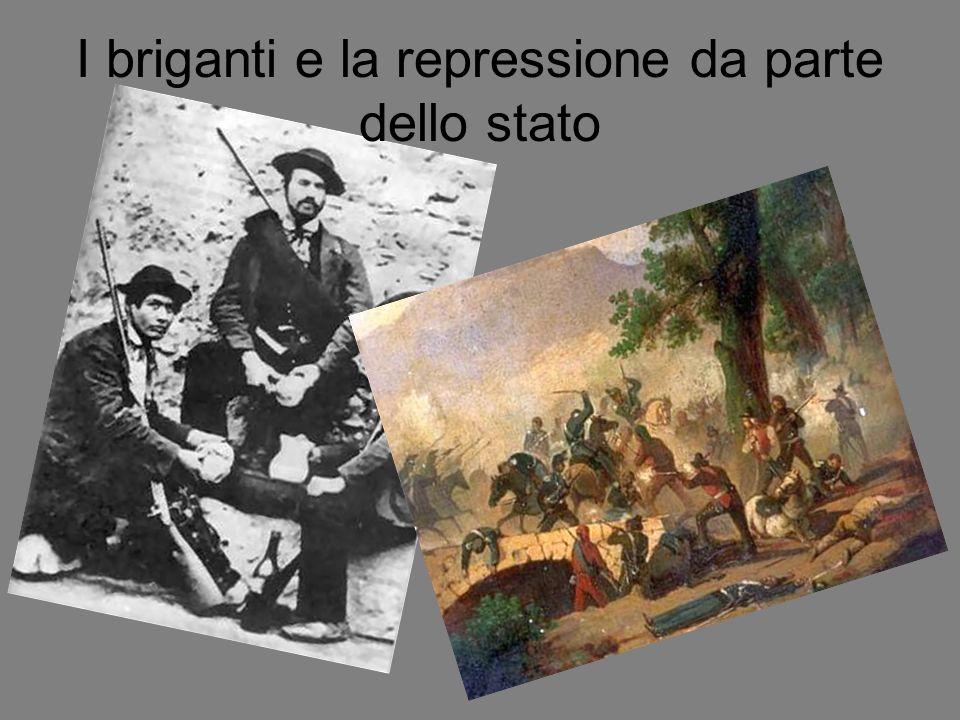 I briganti e la repressione da parte dello stato