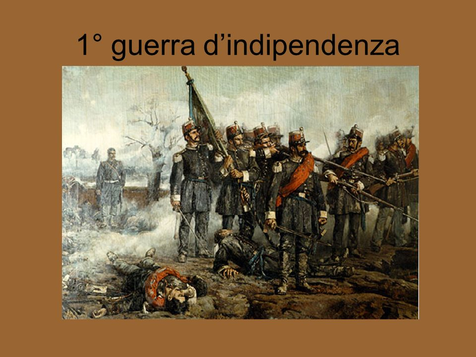 1° guerra d'indipendenza