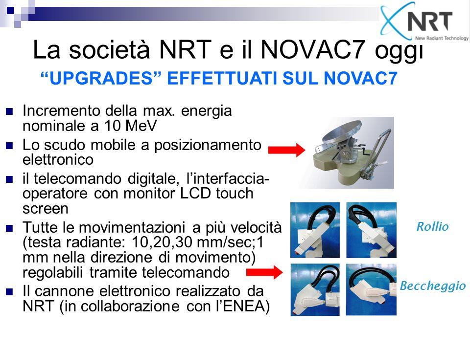 La società NRT e il NOVAC7 oggi