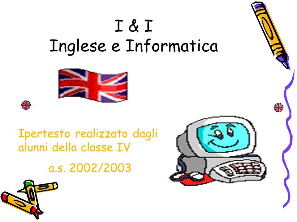 I & I Inglese e Informatica