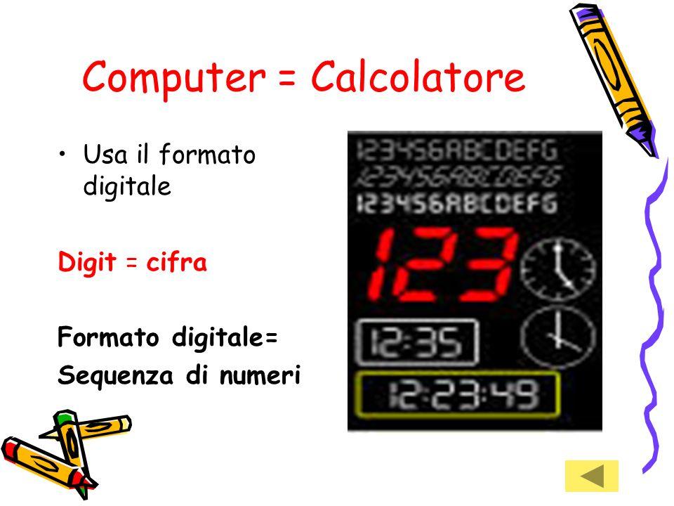 Computer = Calcolatore