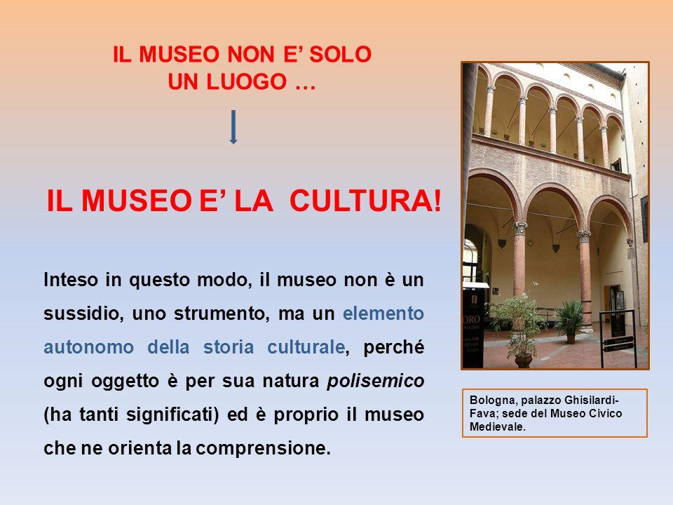 IL MUSEO E' LA CULTURA! IL MUSEO NON E' SOLO UN LUOGO …