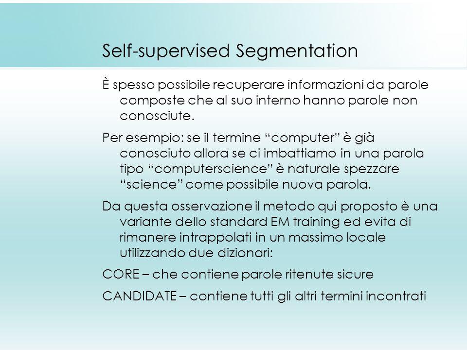 Self-supervised Segmentation