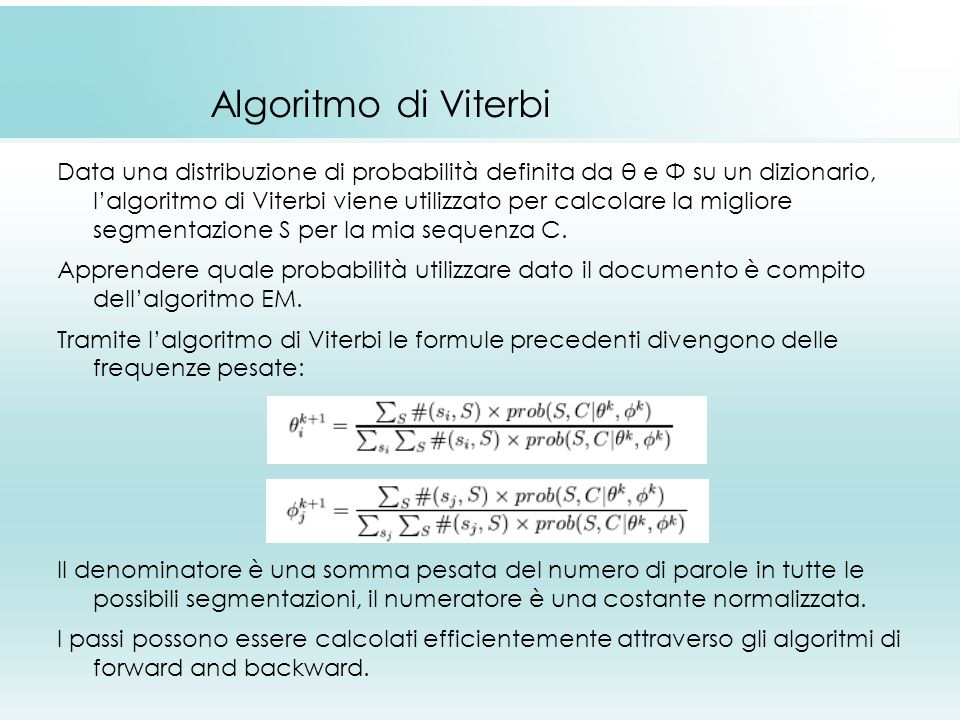 Algoritmo di Viterbi