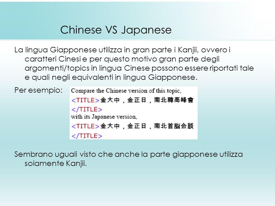 Chinese VS Japanese