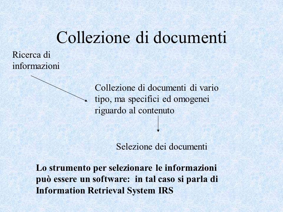 Collezione di documenti