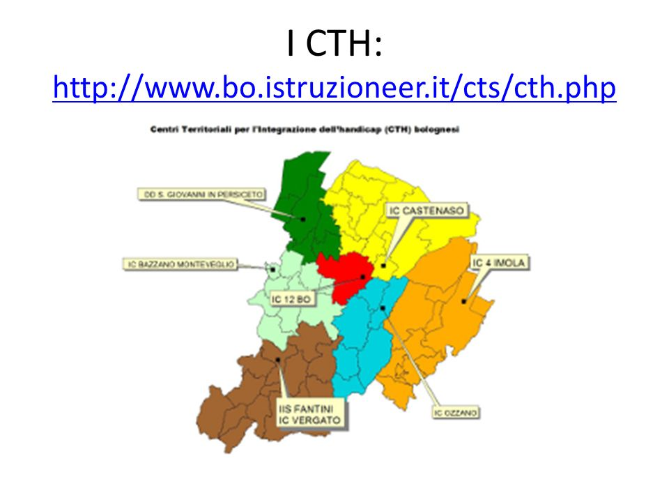I CTH: http://www.bo.istruzioneer.it/cts/cth.php