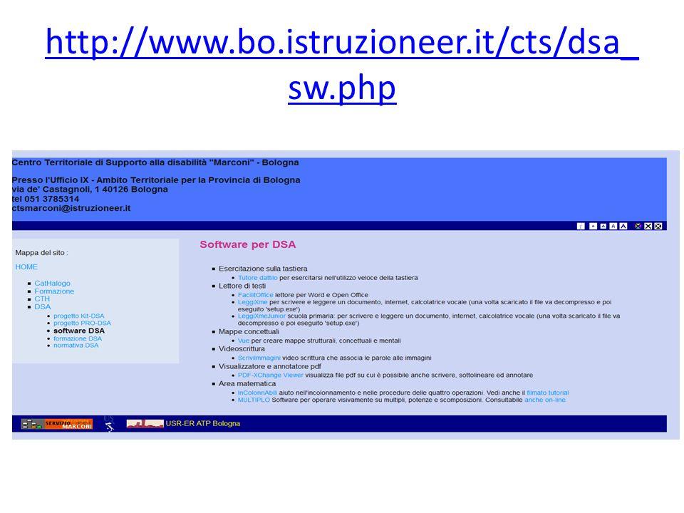 http://www.bo.istruzioneer.it/cts/dsa_sw.php