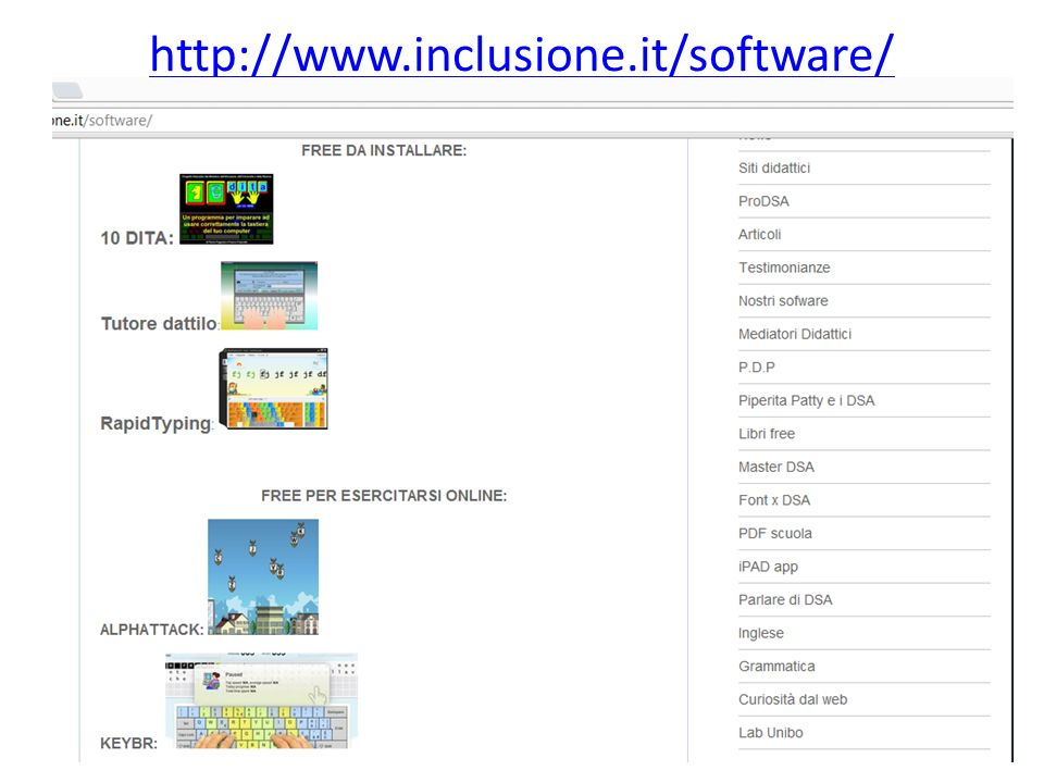 http://www.inclusione.it/software/