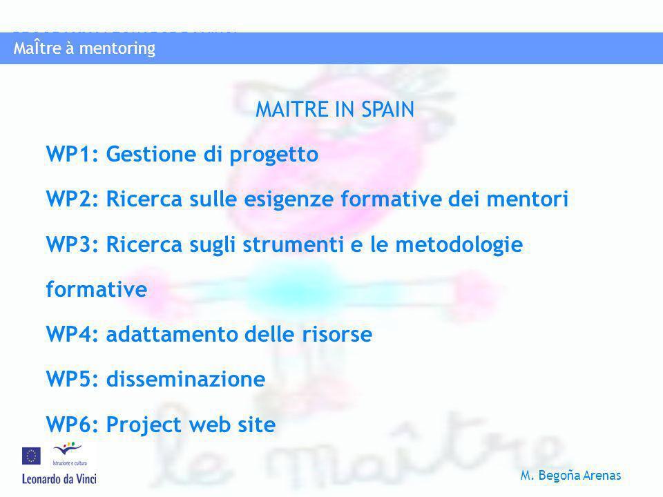 WP1: Gestione di progetto