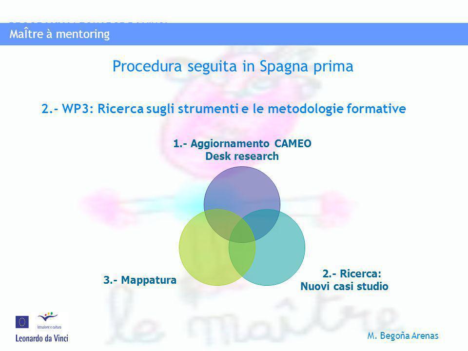 2.- WP3: Ricerca sugli strumenti e le metodologie formative